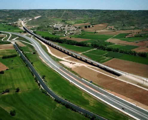 Ave Levante - Campos del Paraíso - Horcajada. Cuenca